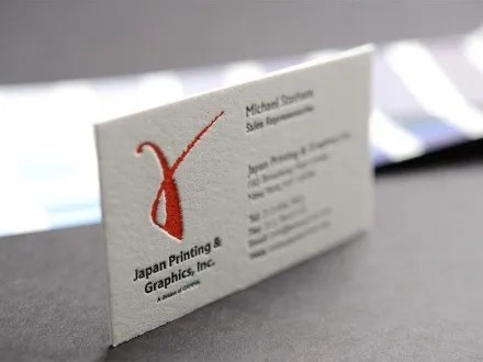 Japan Print - Business Cards NYC