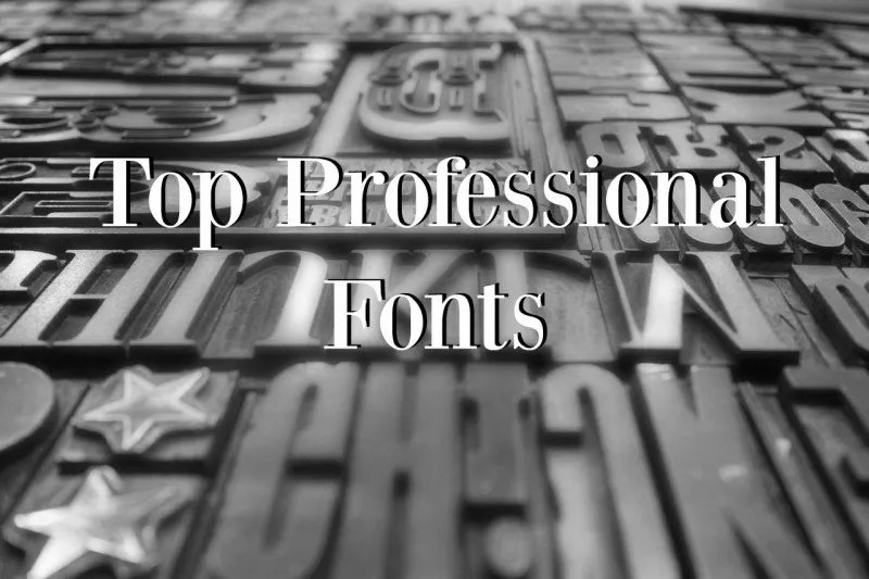 Top Professional Fonts Business Card Design Services
