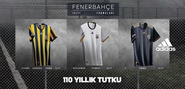 Fenerbahçe 2016-2017 yeni formaları tanıtıldı