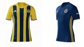 Fenerbahçe 2016-2017 yeni formalar