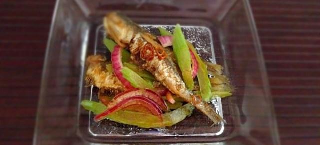 Nanban aux sardines イワシの南蛮漬