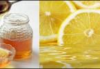 خلطة عصير الليمون وعسل النحل لتبييض الوجه
