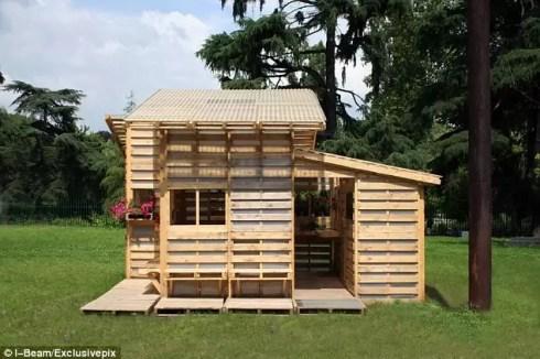 Conhe A O Pallet Home Project Casa Feita Com Paletes