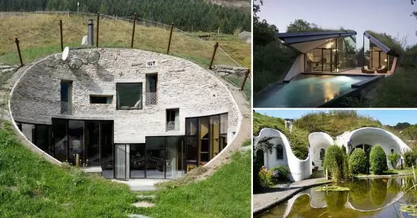Casas subterr neas efici ncia t rmica e baixo impacto - Incroyable maison monolithique en suisse ...