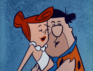 O primeiro casal à ser mostrado na cama em uma emissora de TV em horário nobre  foram Fred e Wilma Flintstone