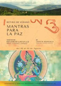 """RETIRO ""Mantras para la Paz"" con Eduardo Laguillo. 2-5 de agosto"" @ Jardín Mandala | Valberzoso | Castilla y León | España"