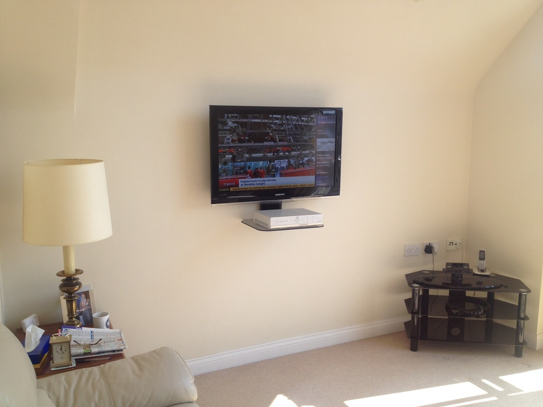 Tv Wall Mounting Page 1 Aerial Satellite Audio Visual