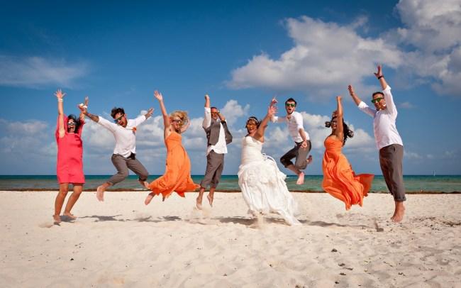 Wendy & Mark's Intimate yet Entertaining Wedding at Riu Palace Riviera Maya
