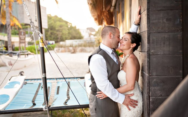Tiffany & Sean's Roof Top Terrace Wedding Celebration at Sandos Caracol Eco Resort
