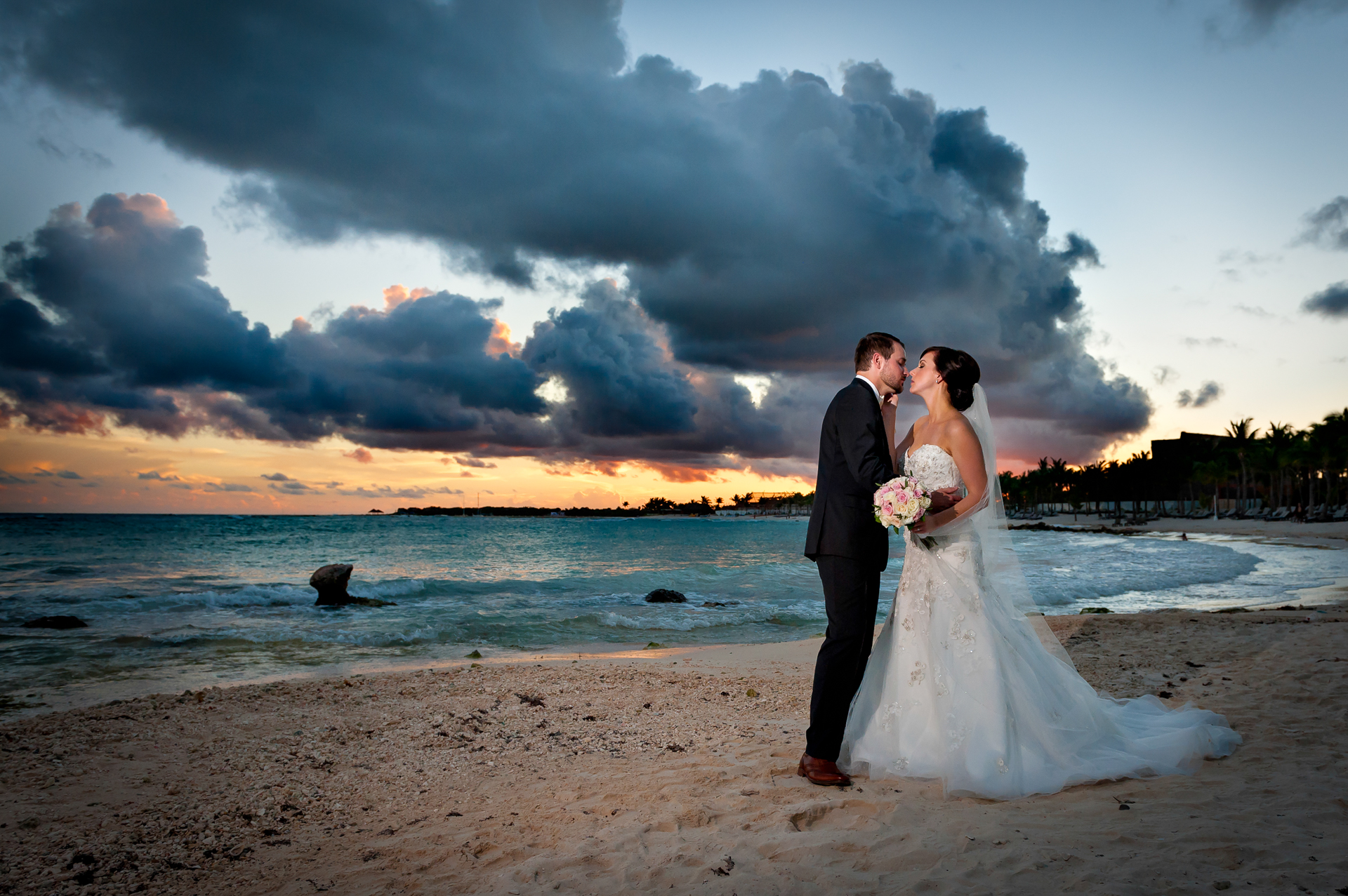 Andrea & Michel's Whirlwind Wedding at Barceló Maya Palace Deluxe