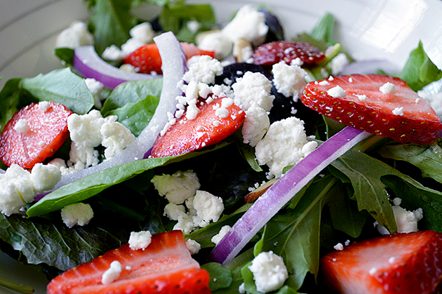 Cindy's Strawberry Feta Salad
