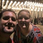 Jess and I at urban Lights
