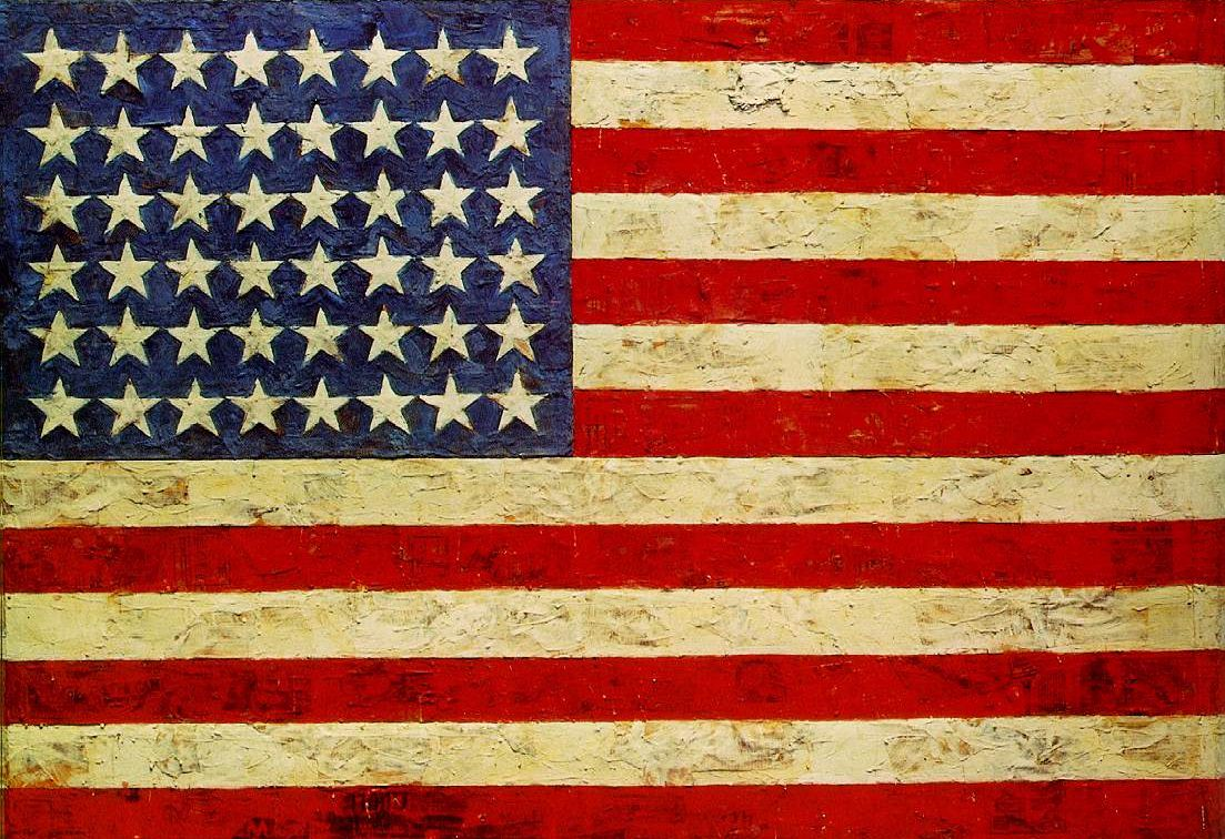 Spain Wallpaper Iphone Flag 1954 55 By Jasper Johns