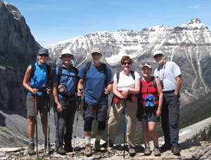 See the Canadian Rockies on easy mode: take a hiking or walking tour.