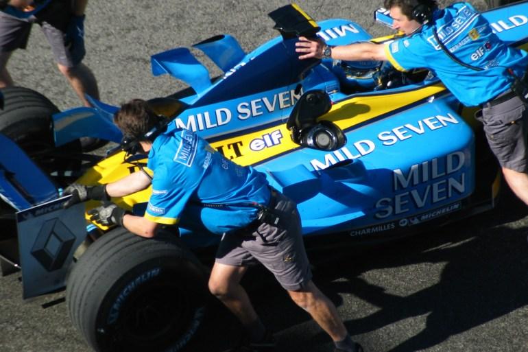 Formule 1 Grand Prix van Amerika 2003 Slide 8