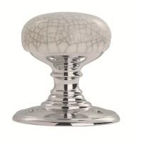 DL34MCCP Delamain Porcelain Door Knob