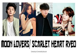 All Main Cast of Moon Lovers Scarlet Heart Ryeo