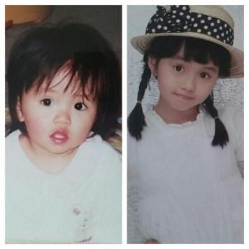 Childhood Photos of Kim So Hyun