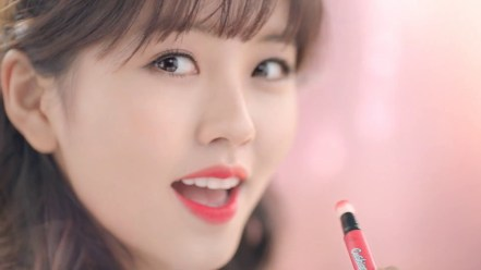 Kim So Hyun Did a CF for a Beauty Product
