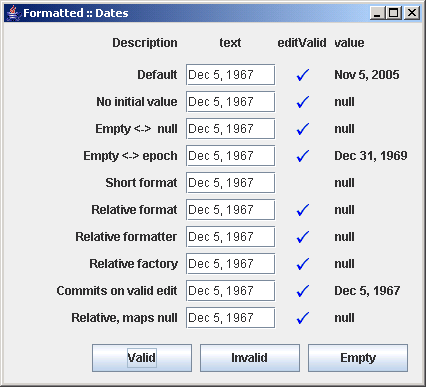 New Gregorian Calendar By Java Computus Wikipedia A Quick Demonstration Of Jformattedtextfield Formatted