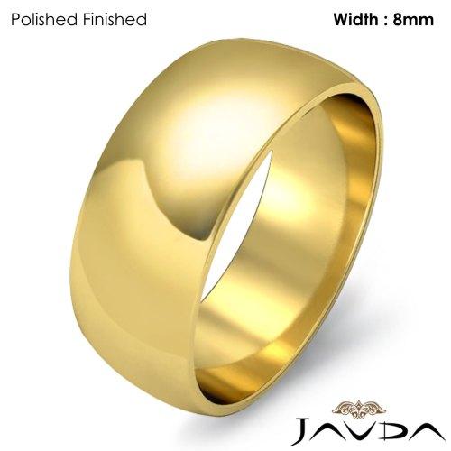 18k gold wedding bands Click to enlarge