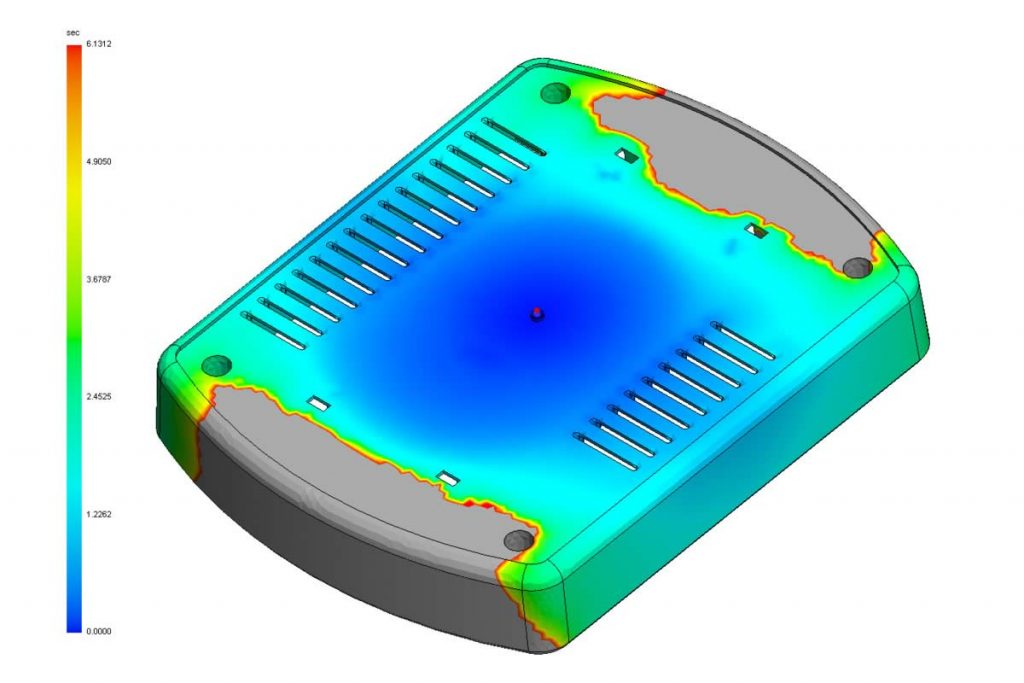 SOLIDWORKS Plastics Course for analyzing Injection Molded Parts