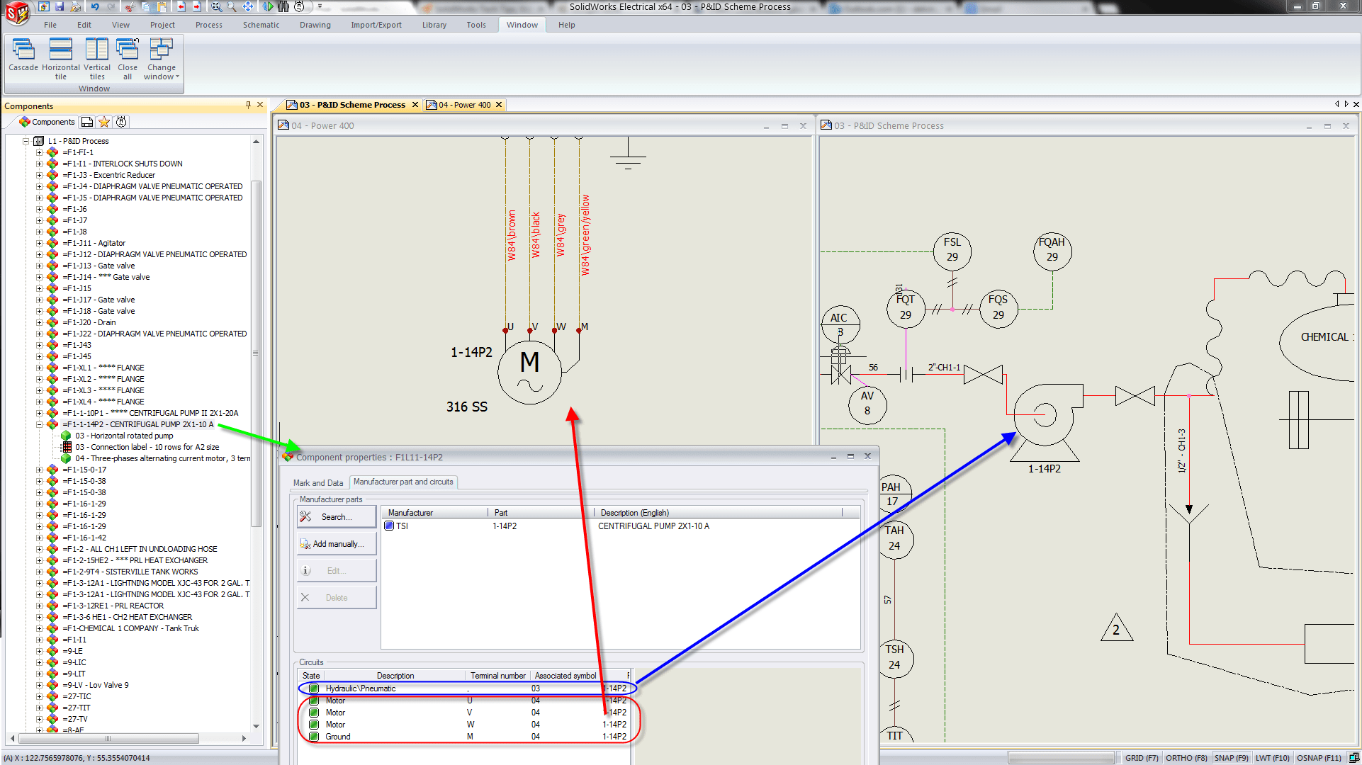 piping diagram solidworks