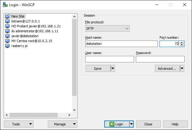 Synology Activar Acceso Remoto por SSH 02