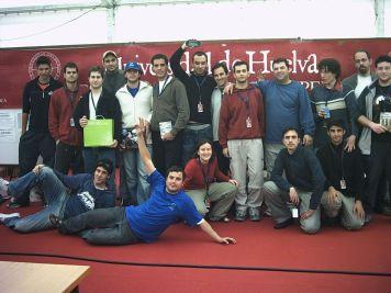 Party en la Universidad de Huelva