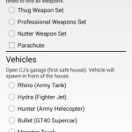 JCheater San Andreas Edition 2 3 GTA Cheats For Android
