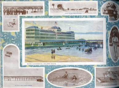The Continental Hotel advertised in a Florida East Coast Railway brochure