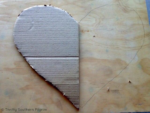 Valentine\u0027s Day Decor  Wood Hanging Heart