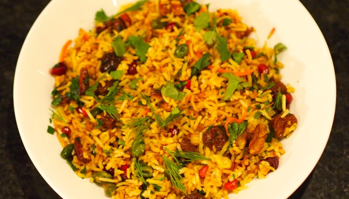 Saffron Jewelled Rice