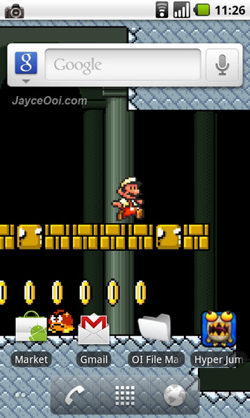 Download Mario Live Wallpaper for Android - JayceOoi.com