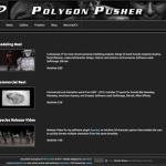 polygonpusherinc.com - website designed by Jayel Draco
