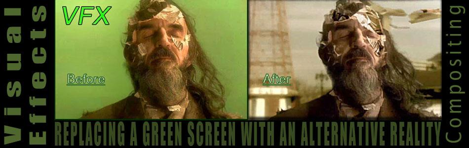 vfx - green screen - compositing - banner - by Jayel Draco