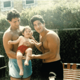 Jay Michael from Bravo as a baby with his two brothers