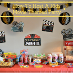 How to Host a Kids Movie Theme Party