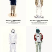 Star Wars Characters Dressed Fashionably