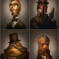 Victorian-Style Star Wars Portraits