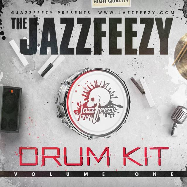 Jazzfeezy Drum Kit Volume One drops today! Very excited andhellip
