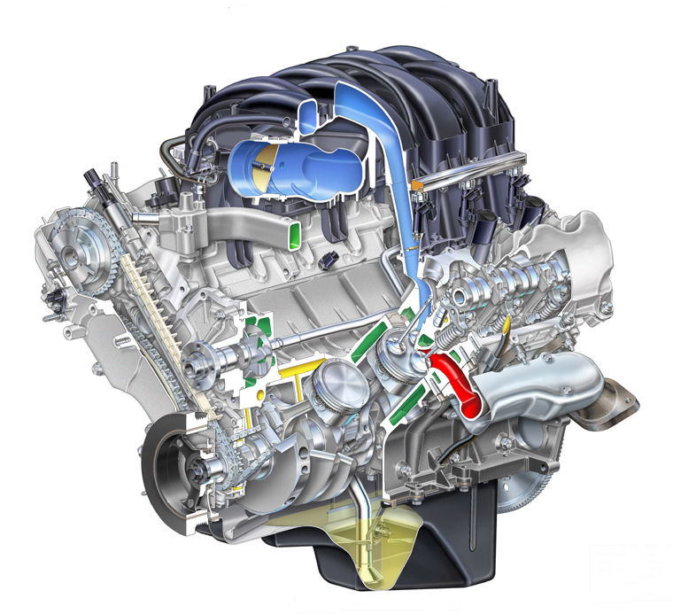 2008 ford 4 6l engine diagram