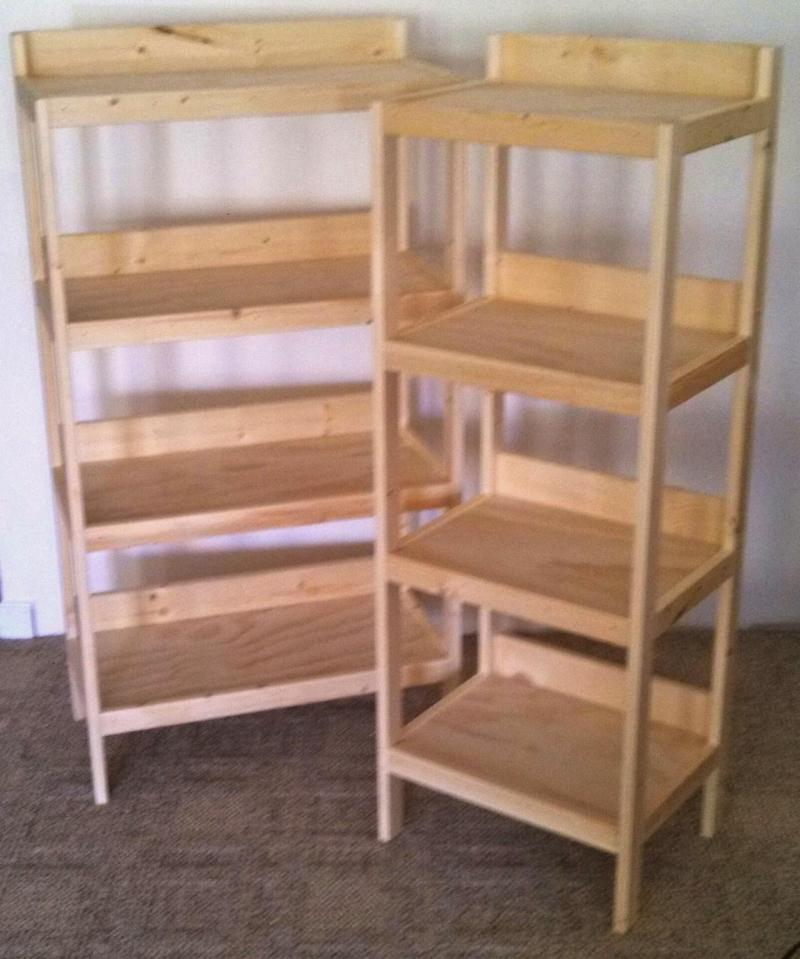 Large Of Basic Wooden Shelves