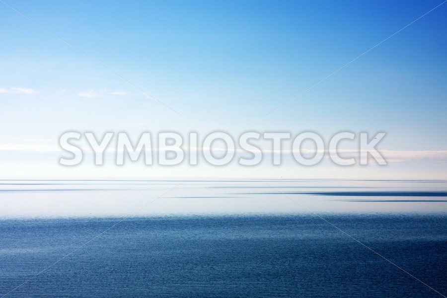 Blue sea scene - Jan Brons Stock Images