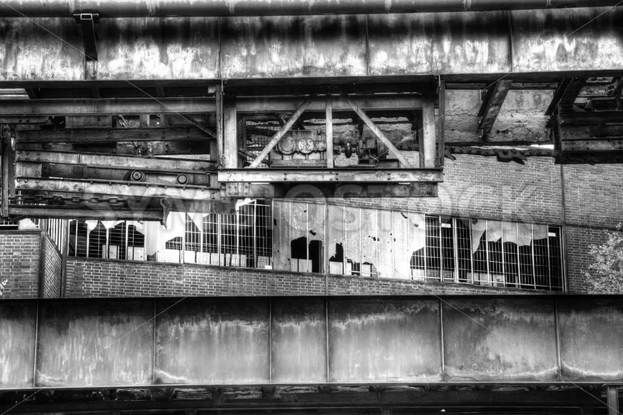 Factory ruins - Jan Brons Stock Images