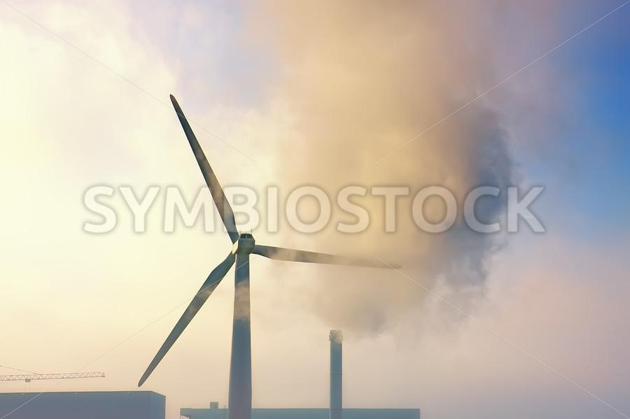 Gloomy Industrial View. - Jan Brons Stock Images