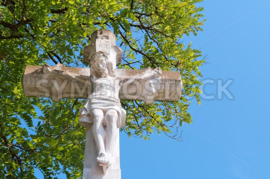 Jesus Christ on cross - Jan Brons Stock Images