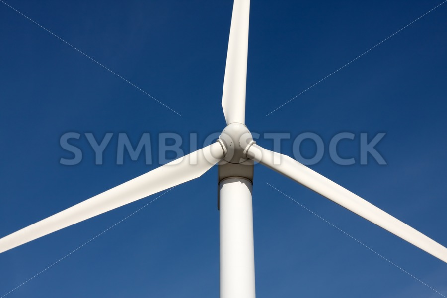 Mighty windmill front view - Jan Brons Stock Images