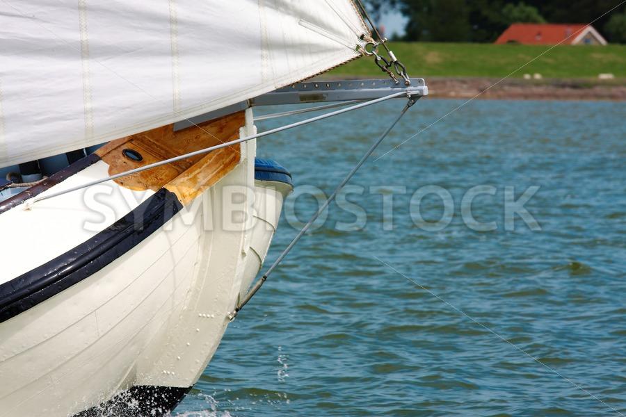 Skustje bow - Jan Brons Stock Images