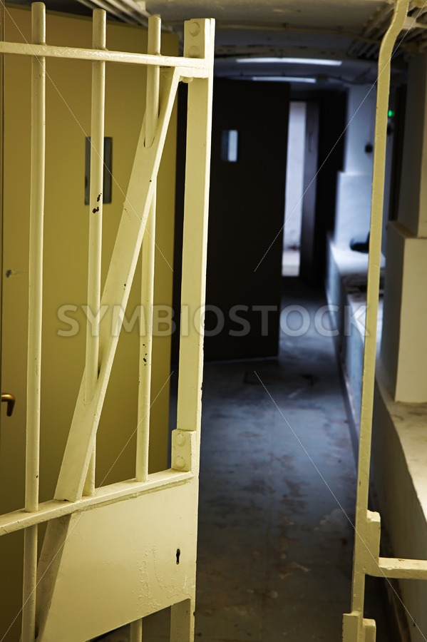 Welcome to prison - Jan Brons Stock Images